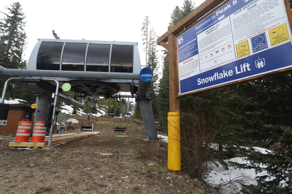 The Snowflake LIft in Breckenridge
