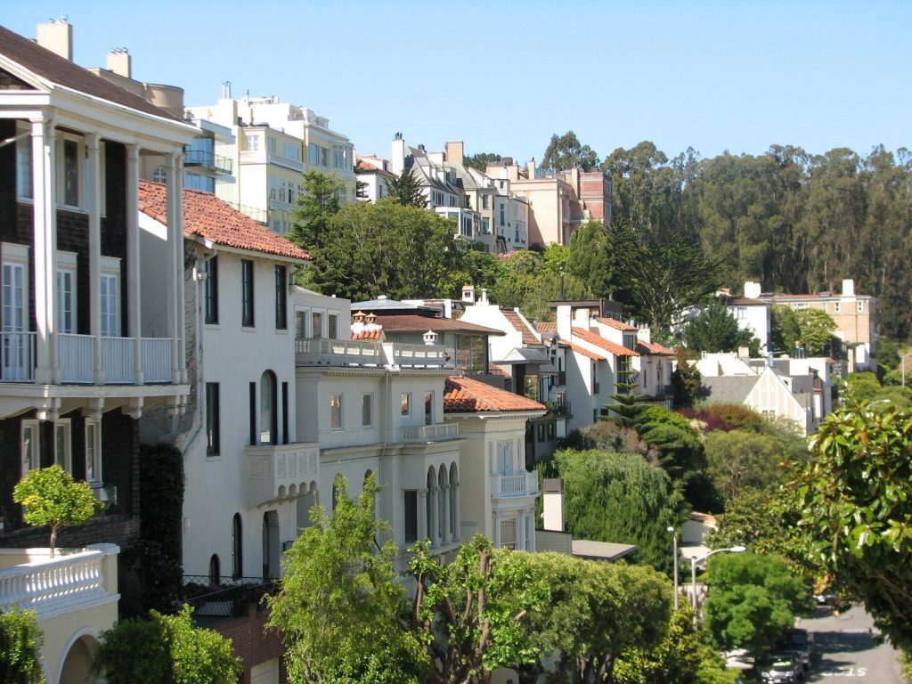 Pacific Heights homes in San Francisco