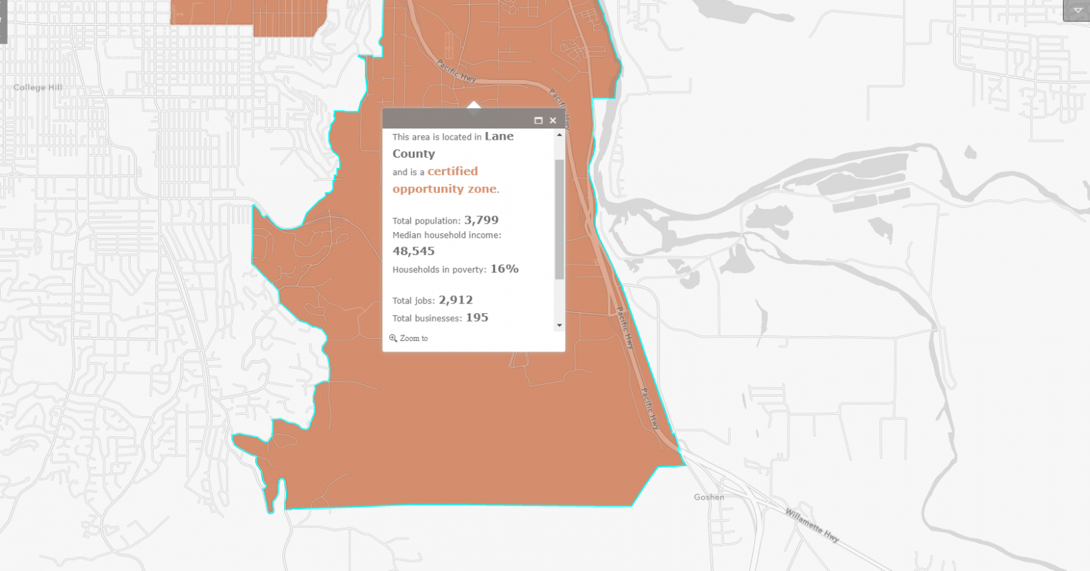 Opportunity Zone - East Eugene