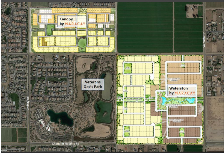 Maracay Homes Buys 82 Acres in Chandler