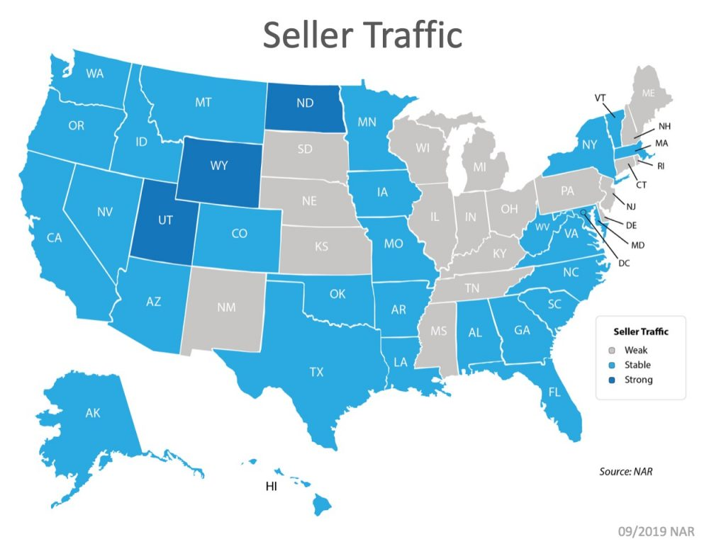 Seller traffic map