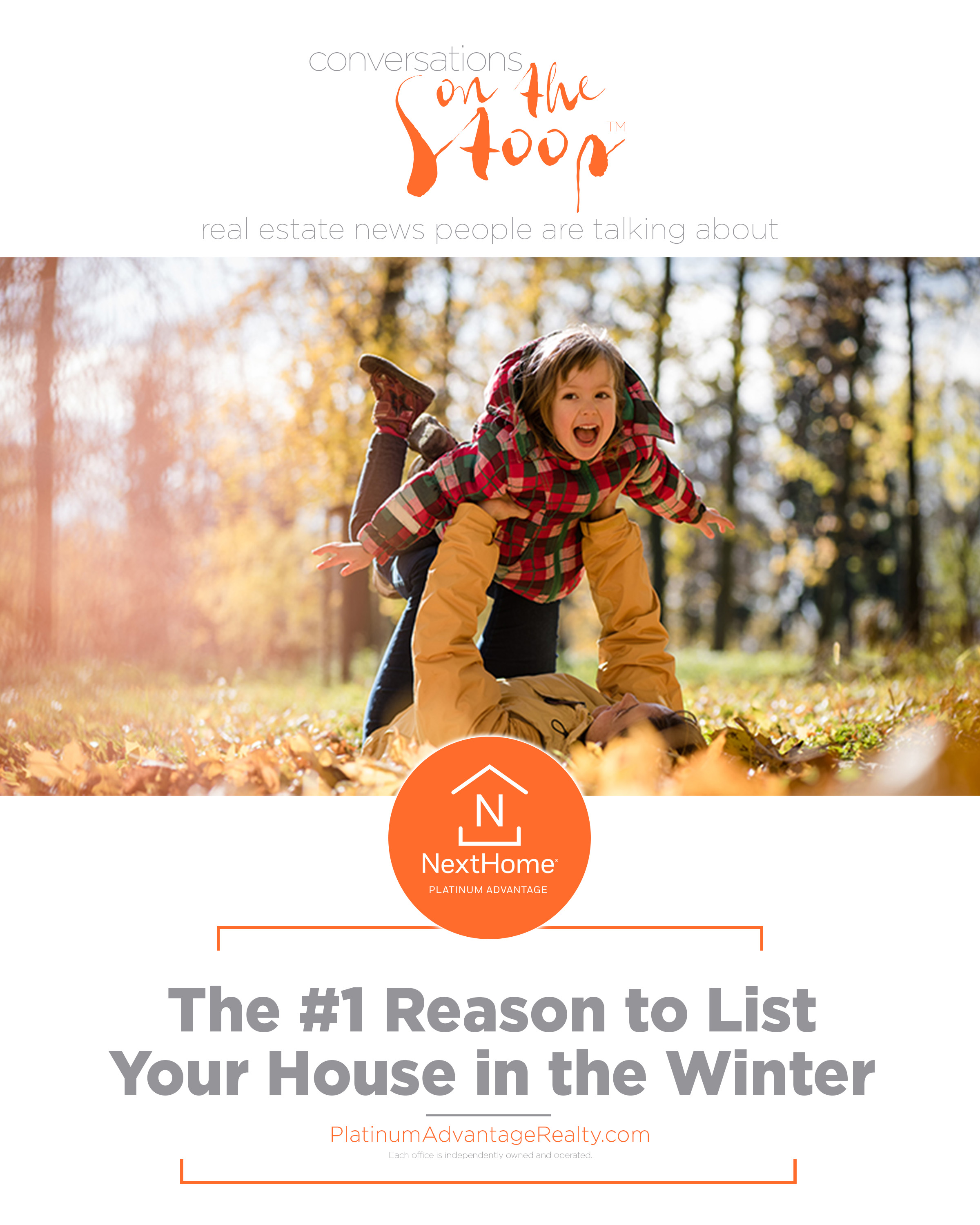 The #1 Reason to List Your House in the Winter