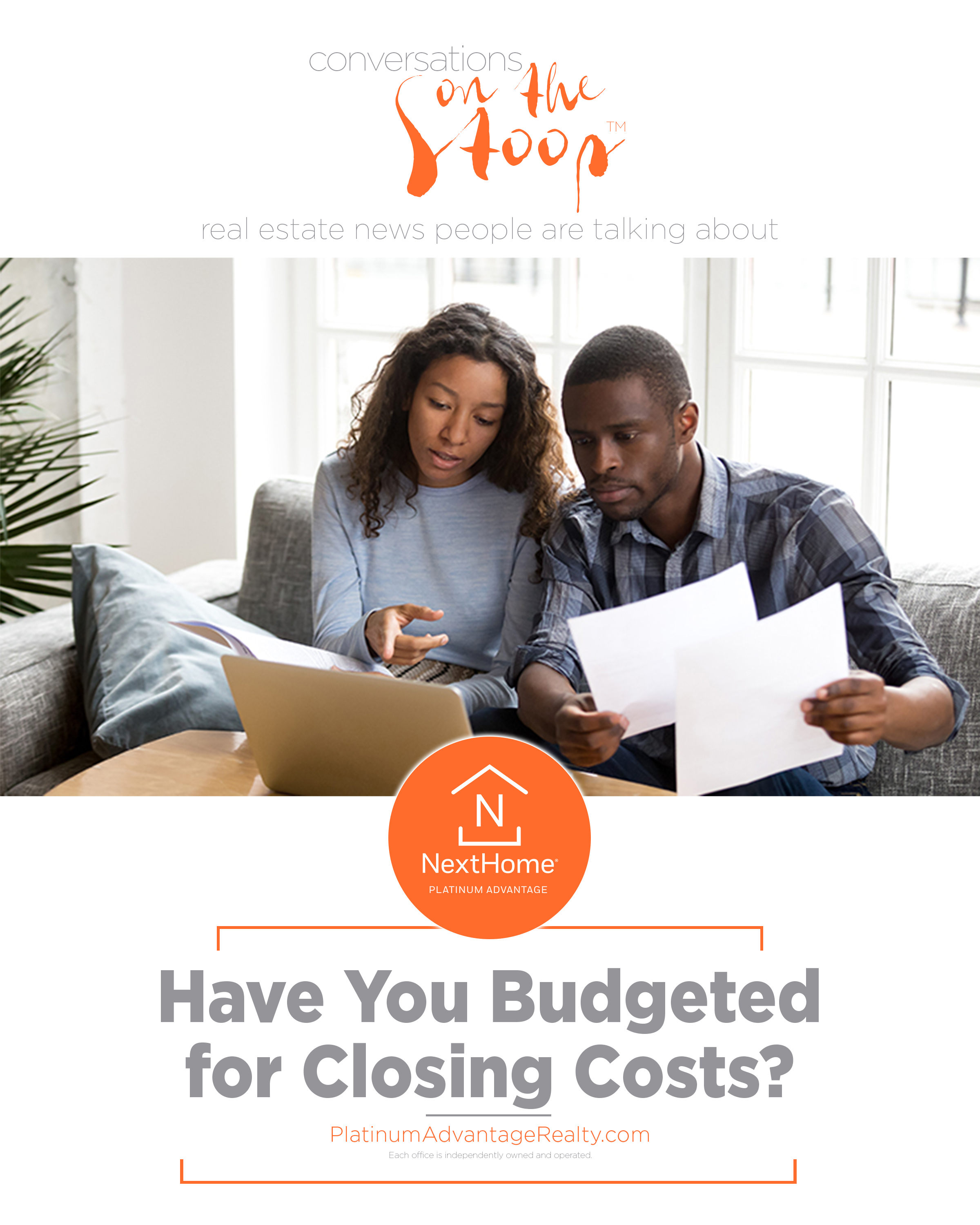 Have You Budgeted for Closing Costs?