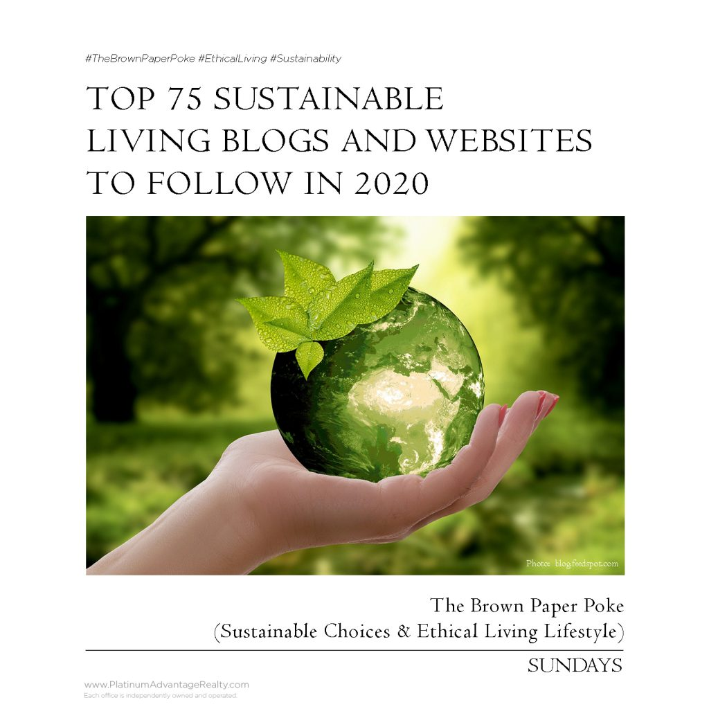 Top 75 Sustainable Living Blogs and Websites To Follow in 2020