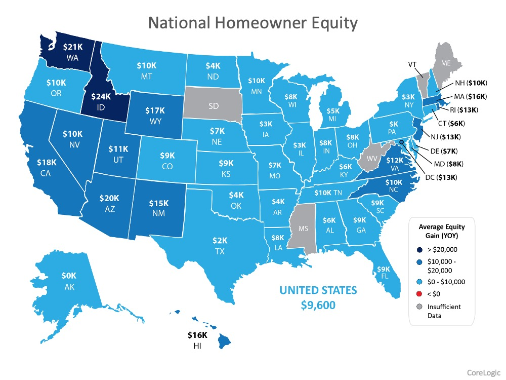 Want to Make a Move? Homeowner Equity is Growing Year-Over-Year