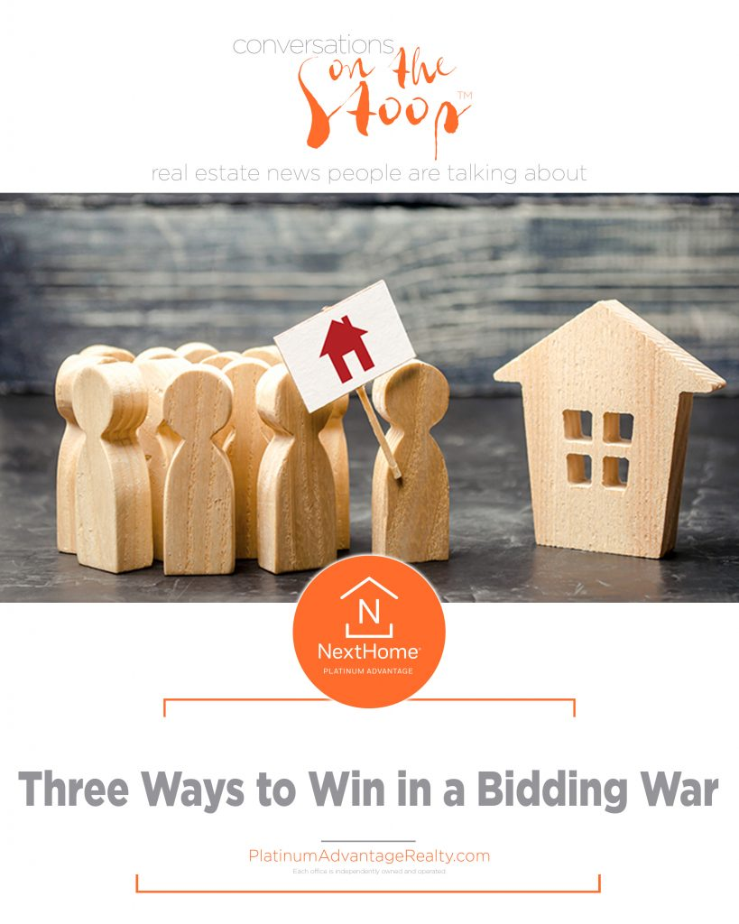 Three Ways to Win in a Bidding War