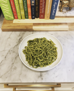 Kale Pesto Pasta - Food