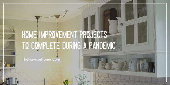 While stuck at home practicing your social distancing, tackle these inexpensive home improvement projects to get ready to put your property on the market in the near future.