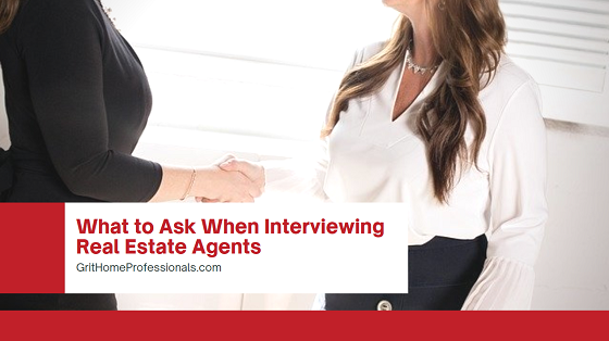 When interviewing real estate agents, you should ask a few important key questions to determine if they are the right