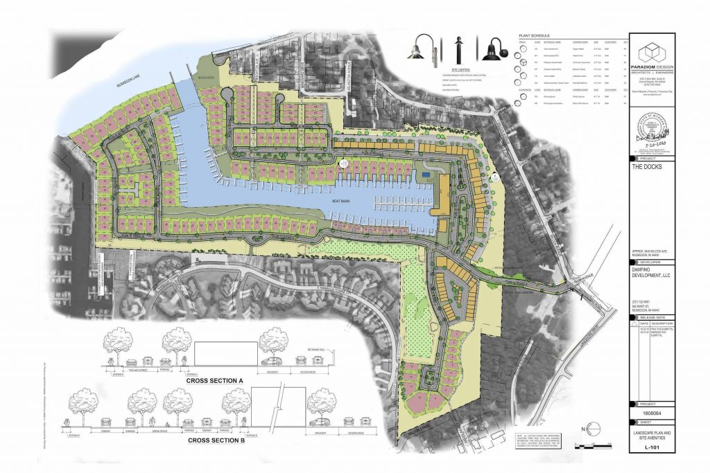 The Docks Proposed Site Plan - New Waterfront Community