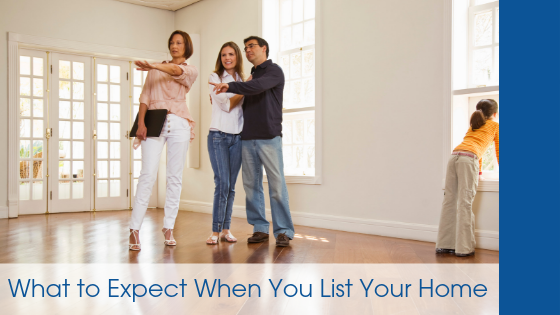 What to Expect When You List Your Home
