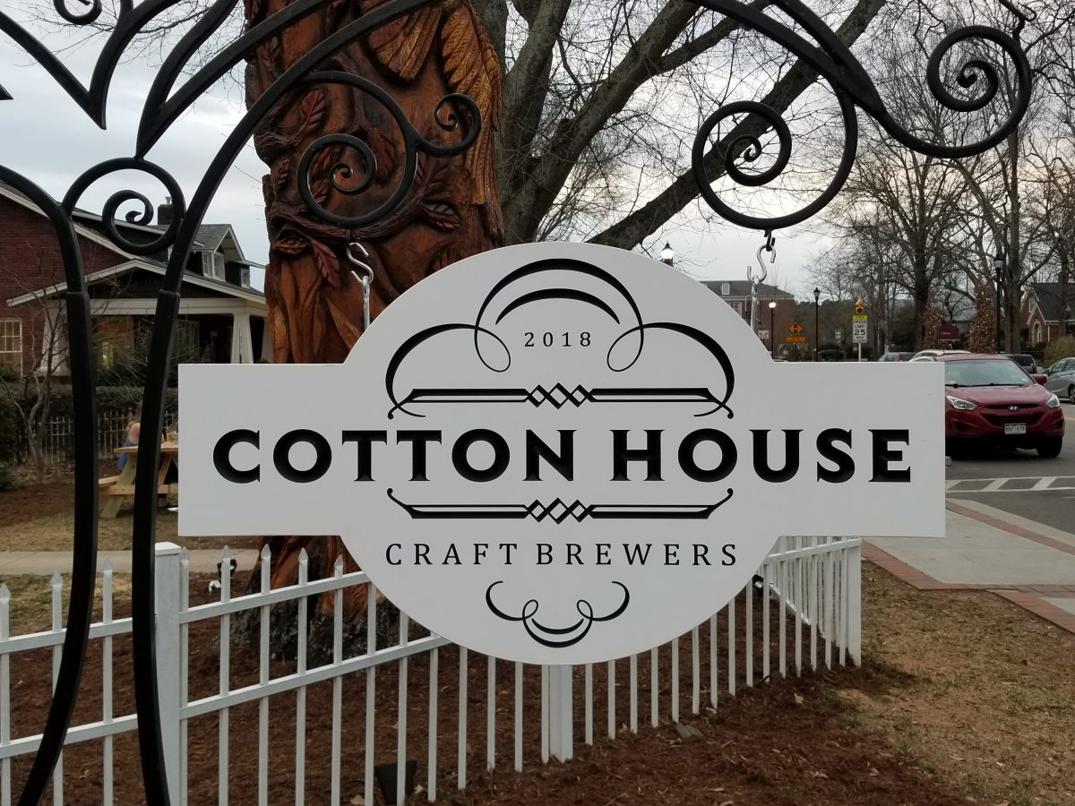 A New Beer on the Raleigh Beer Trail:  Cotton House Craft Brewers