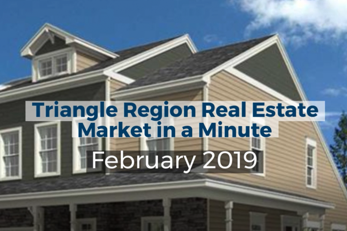 Wake County Real Estate Update – February 2019