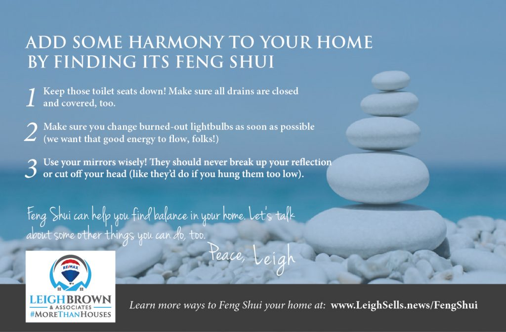 ADD SOME HARMONY TO YOUR HOME BY FINDING ITS FENG SHUI