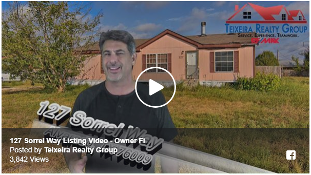 127 Sorrel Way, Alvarado, TX 76009 – Owner Financing Available